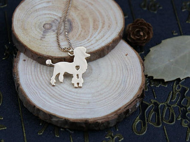 Handmade Poodle Necklace - Idealpaws