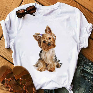 Yorkshire Terrier Dog T Shirt - Idealpaws
