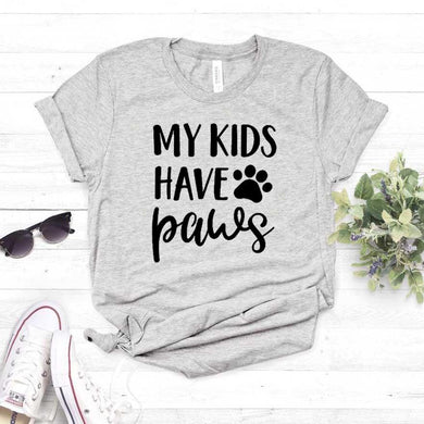 My Kids Have Paws T-Shirt - Idealpaws