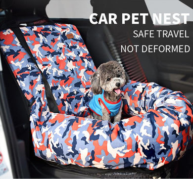 Padded Pet Car Travel Bag - Idealpaws