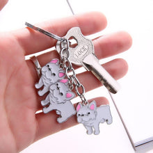 Load image into Gallery viewer, Bulldog Keychain Charms - Idealpaws