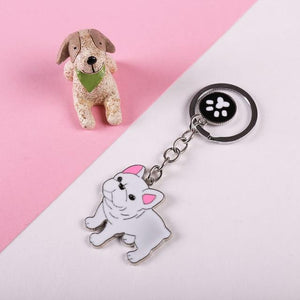 Bulldog Keychain Charms - Idealpaws