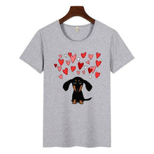 Load image into Gallery viewer, Dachshund T Shirt Collection - Idealpaws