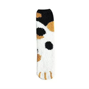 Furry Cat Claws Thick Warm Socks - Idealpaws