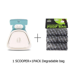 Foldable Pooper Scooper - Idealpaws