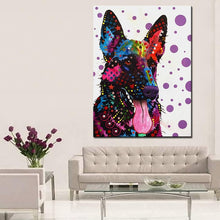 Load image into Gallery viewer, German Shepherd Home Decorative Wall Art - Idealpaws