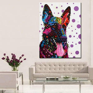 German Shepherd Home Decorative Wall Art - Idealpaws