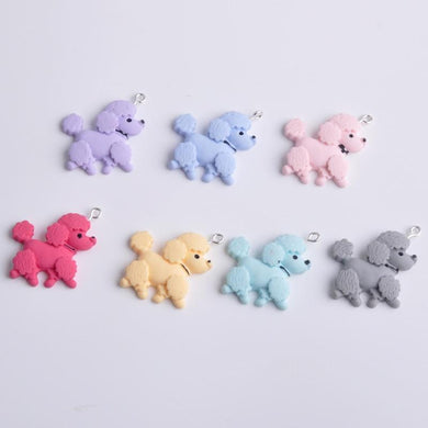 10pcs 29*26mm Small poodle charms - Idealpaws