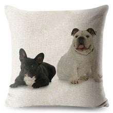 Load image into Gallery viewer, French Bulldog Cushion Cover - Idealpaws