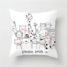 Load image into Gallery viewer, Animal Cushion Cover Cartoon Collection - Idealpaws