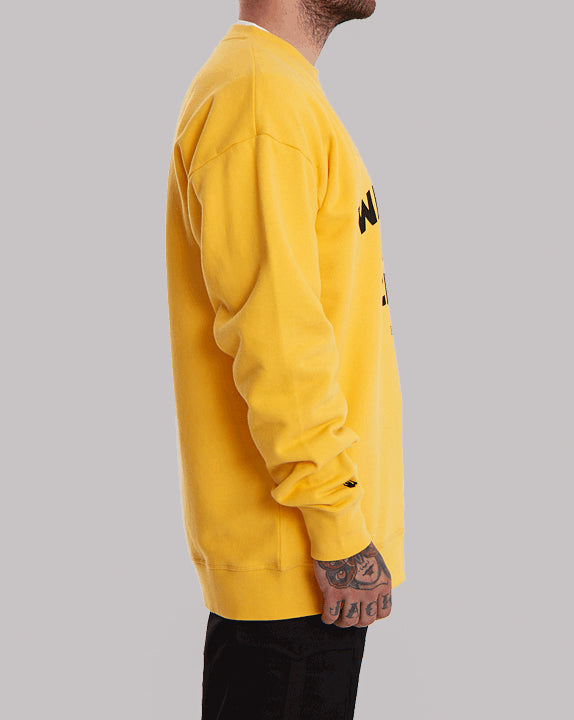 Sweat col rond Ultra - Jaune - YOKO SHOP