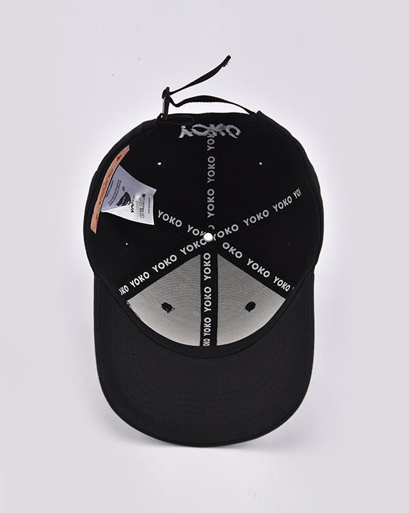 Casquette How You Doin? - Noire - YOKO SHOP