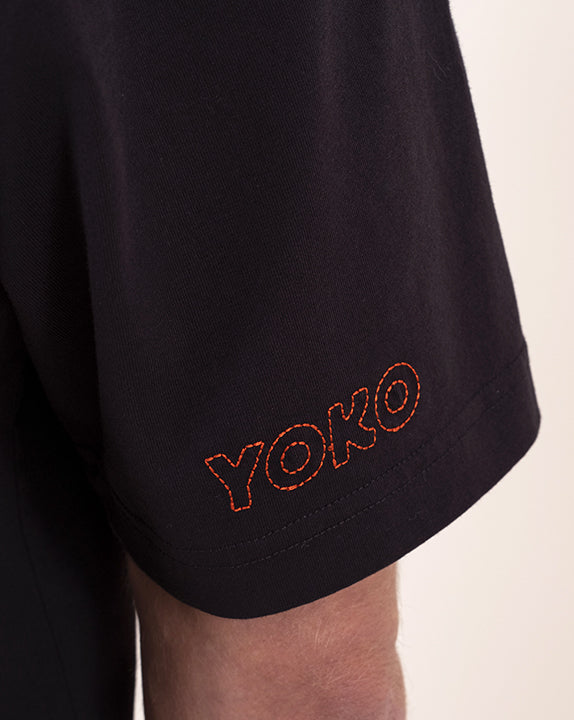 T-shirt How You Doin? - Noir - YOKO SHOP