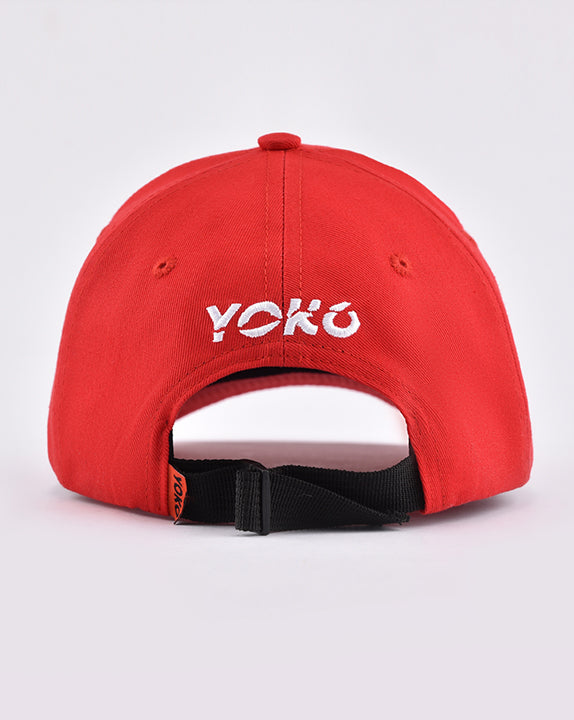 Casquette How You Doin? - Rouge - YOKO SHOP