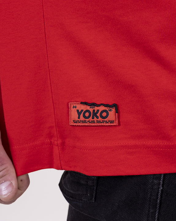T-shirt How You Doin? - Rouge - YOKO SHOP