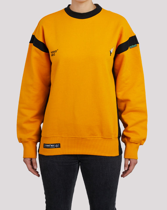 CREWNECK REC YELLOW - YOKO SHOP