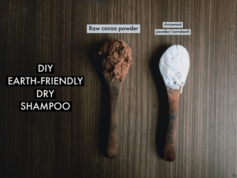 DIY Earth-Friendly Dry Shampoo