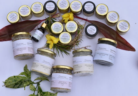 Scentora's Products. Photo by Hemalatha