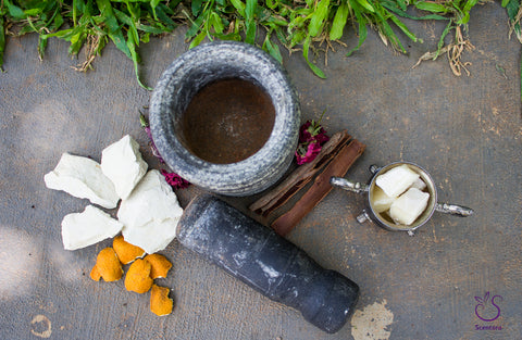 Scentora Raw Materials. Photo by Shruthi Parthasarathy.