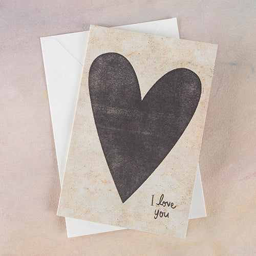 I Love You Card | Natural Life Greeting Card | On A Branch Boutique