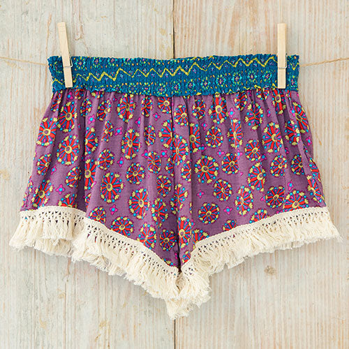 Purple Lounge Shorts | Womens Bottoms | On A Branch Boutique
