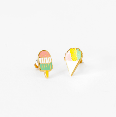 Sno Cone and Popsicle Earrings | Jewelry | On A Branch Boutique