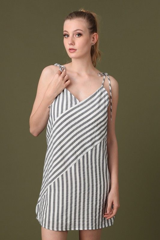 All The Stripes Dress Womens Dresses | On A Branch Boutique