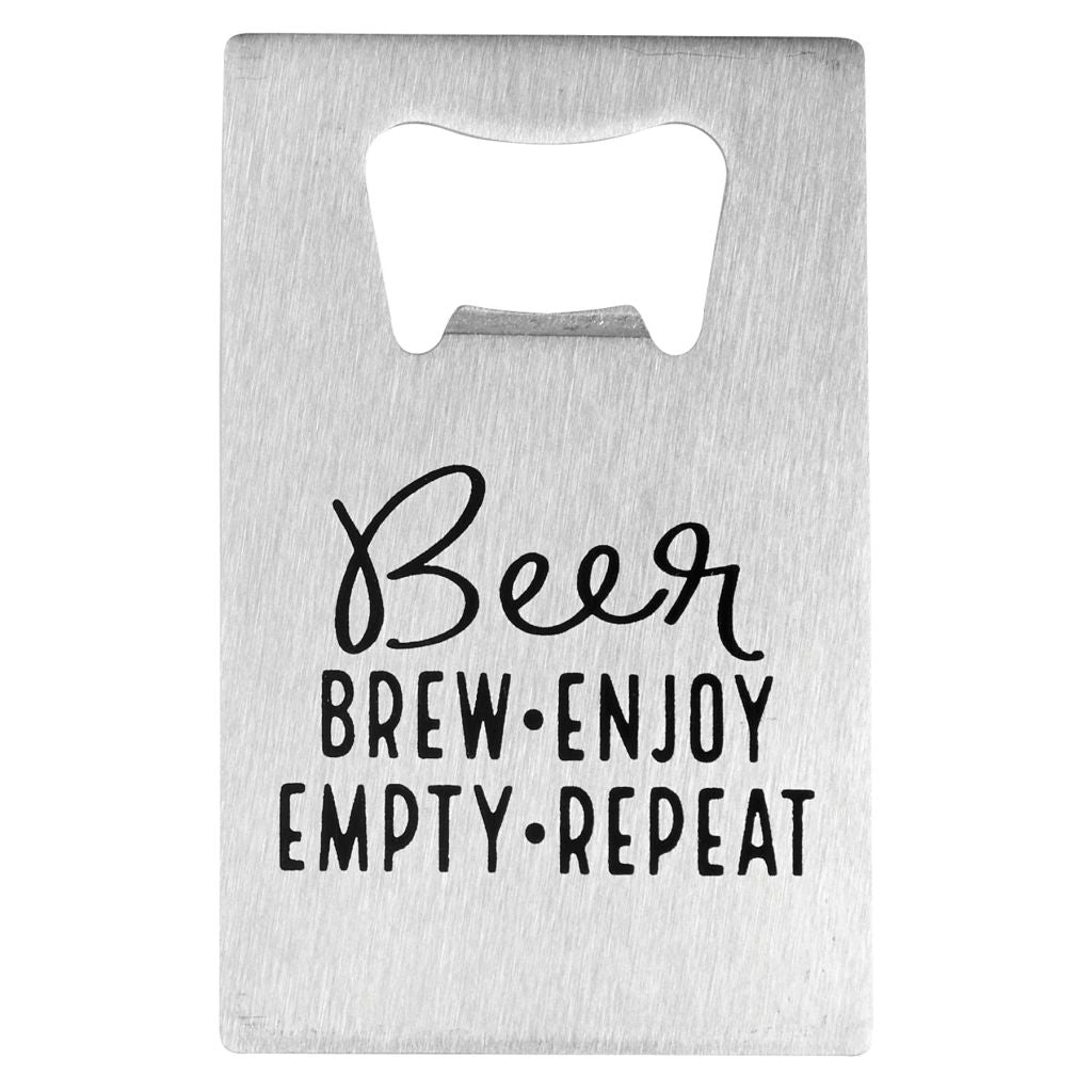 Beer and Repeat Bottle Opener | Mudpie Home | On A Branch Boutique