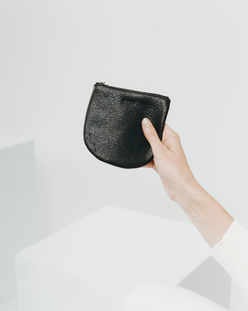 U Pouch in Black Small | Bags | On A Branch Boutique