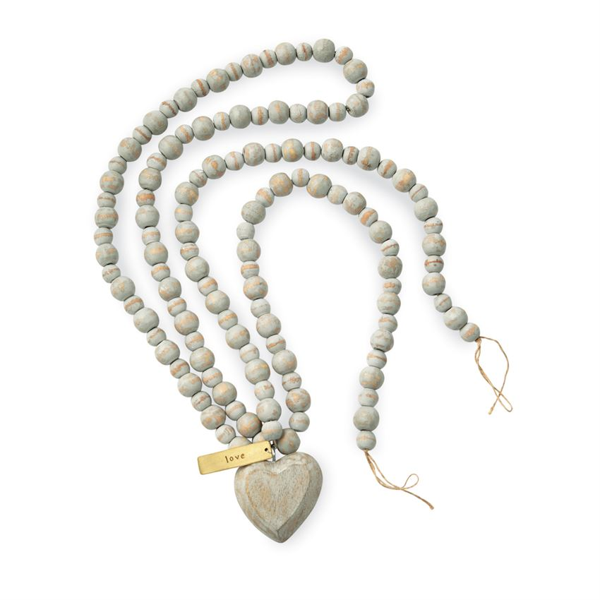 Heart Beads | Mudpie Home | On A Branch Boutique