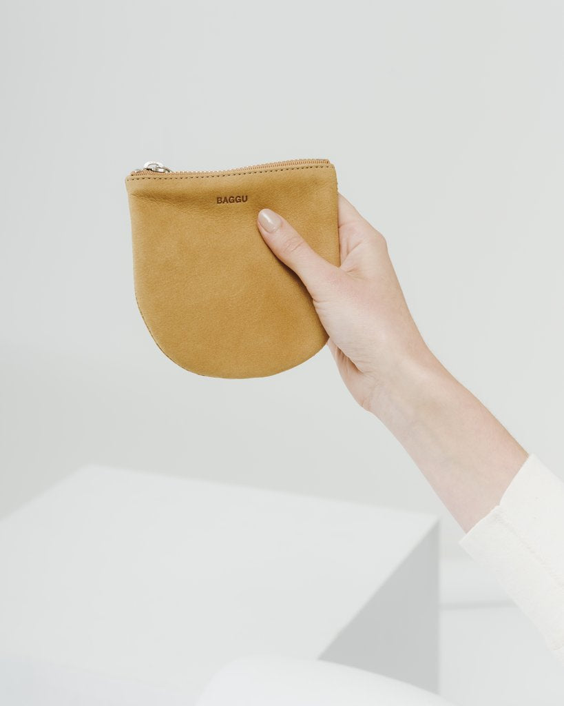 U Pouch in Honey Nubuck Small | Bags | On A Branch Boutique