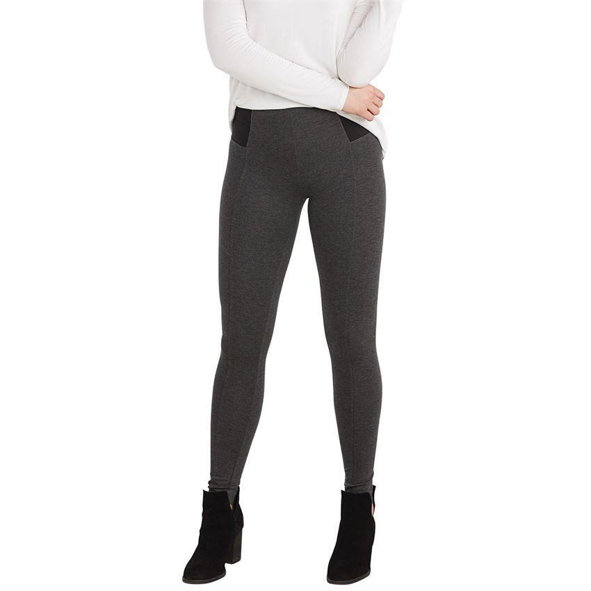 Lena Charcoal Leggings | Women Bottoms | On A Branch Boutique