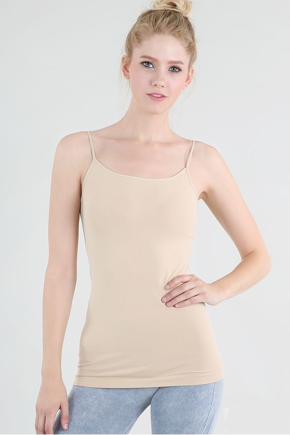 Camisole in Nude | Womens Tops | On A Branch Boutique