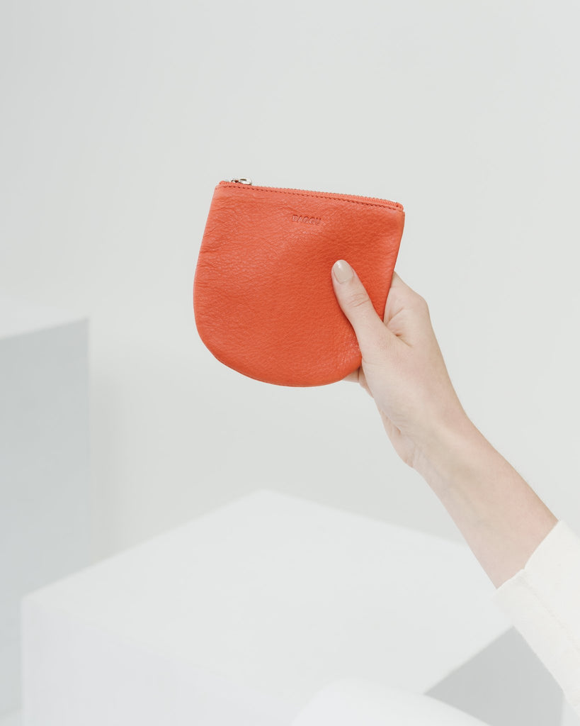 U Pouch in Red Small | Bags | On A Branch Boutique