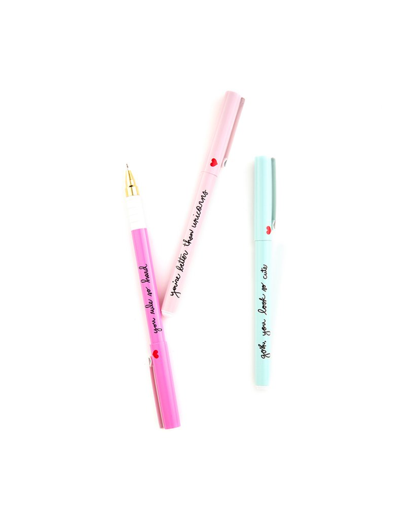 Sweet Talk Pen Set | Stationary | On A Branch Boutique
