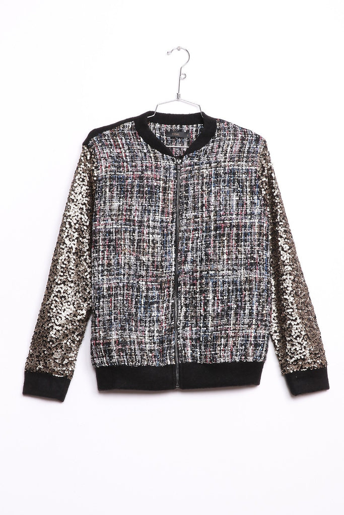 Sparkle Time Bomber | Womens Jackets | On A Branch Boutique