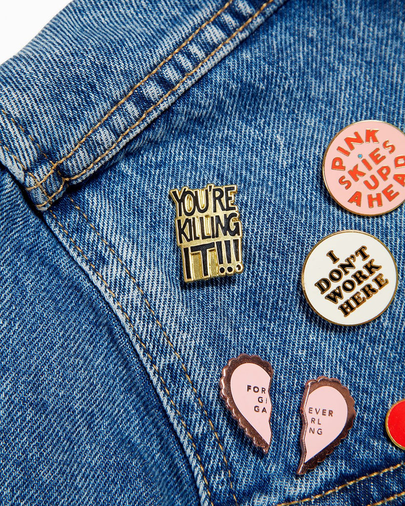 You're Killing It Pin | ban.do flair | On A Branch Boutique