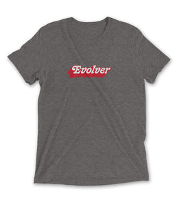 Evolver Graphic Tee - Gray