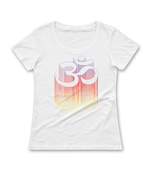 Om Spectrum Wireframe Relaxed Tee