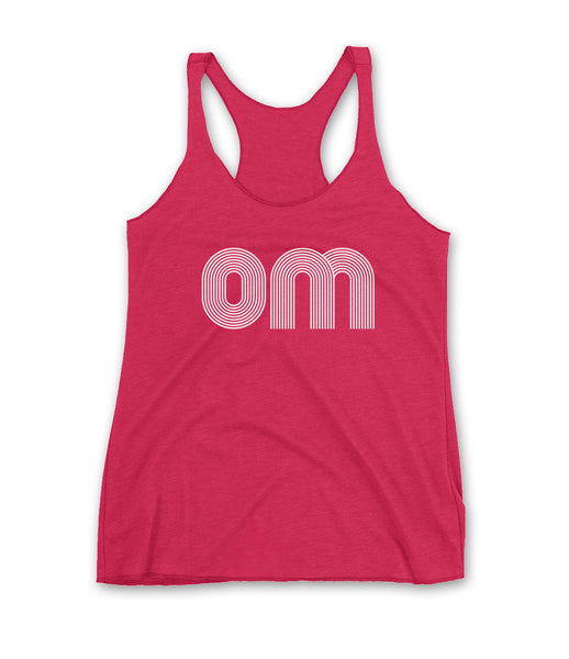 OM Graphic Racerback Tank