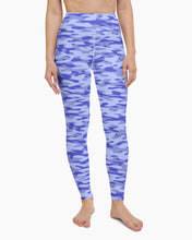 Load image into Gallery viewer, Blueberry Camo Yoga Leggings