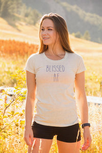Blissed AF Mini Tee - koanapparel