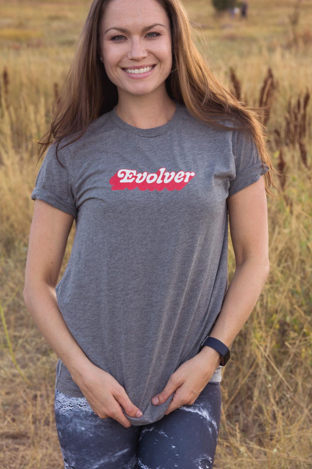 Evolver Graphic Tee - Gray - koanapparel