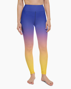 Sedona Dusk Yoga Leggings