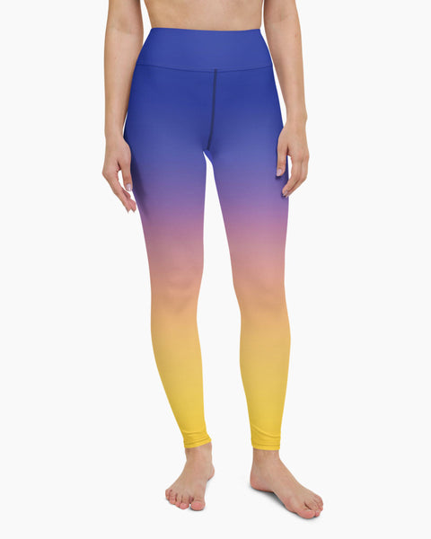 Sedona Dusk Yoga Leggings - koanapparel