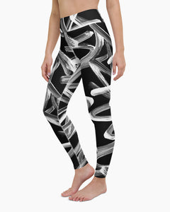 Shodo Graffiti Yoga Leggings