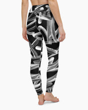 Load image into Gallery viewer, Shodo Graffiti Yoga Leggings
