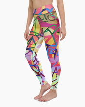Load image into Gallery viewer, Taki Graffiti Yoga Leggings