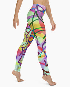 Taki Graffiti Yoga Leggings