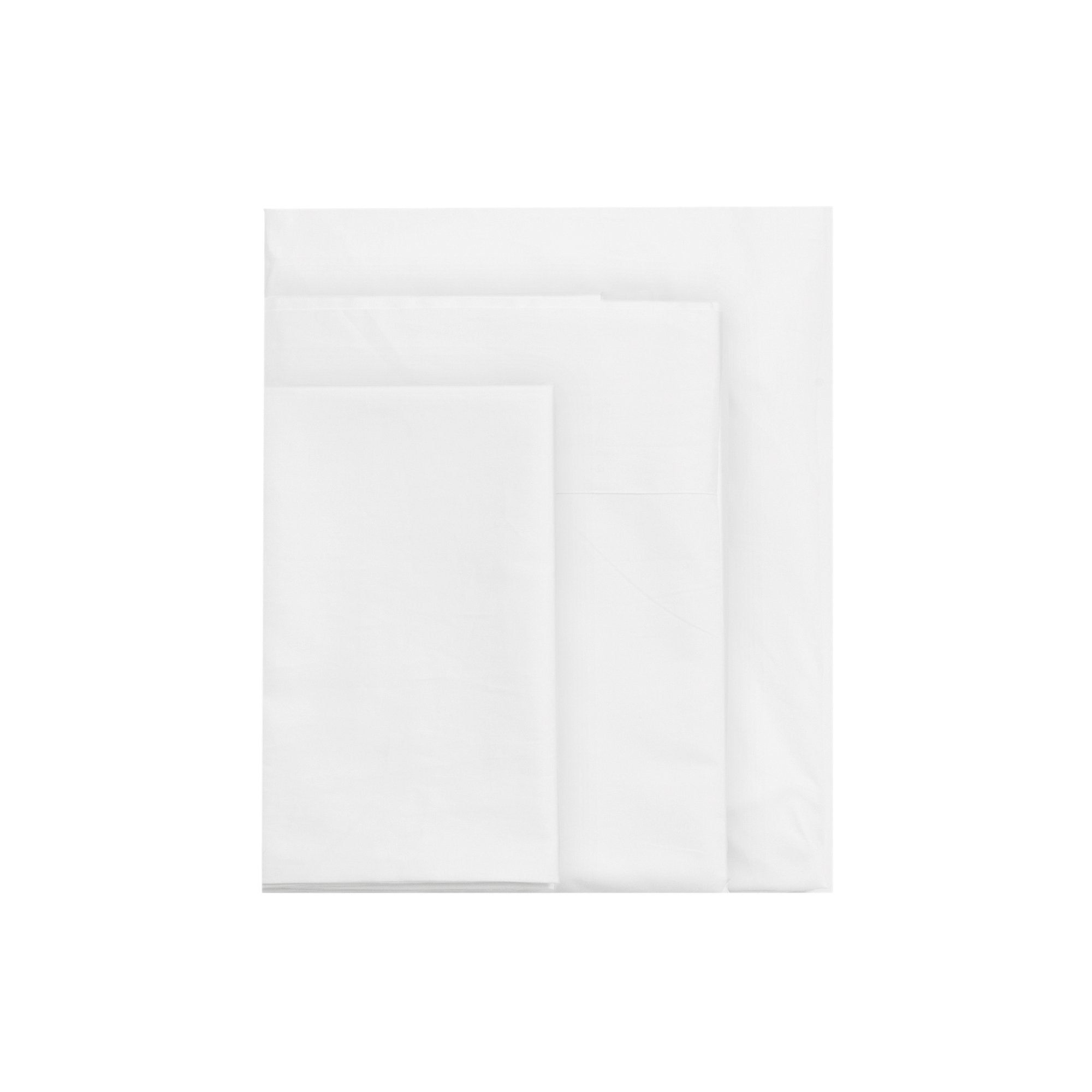 Kikau's Coconut White kids sheet set on white background